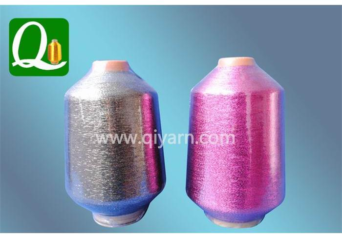 Metallic yarn Supported Yarn